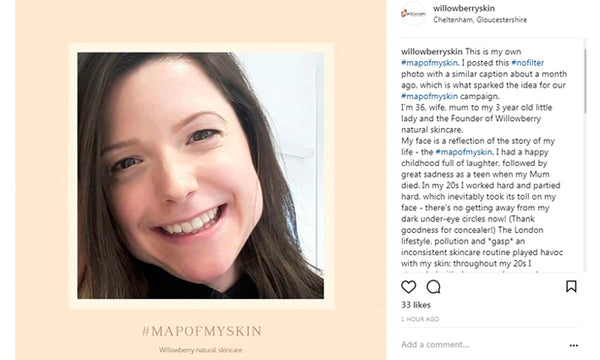 Take part in our #mapofmyskin campaign