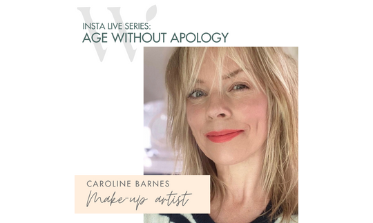 age without apology interview celeb make-up artist caroline barnes