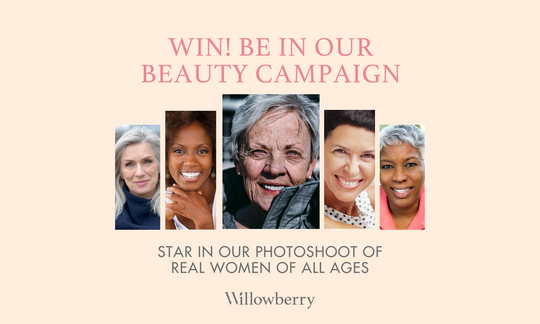 Win! Be in Our Beauty Campaign Photoshoot for Real Women of All Ages