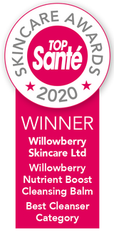 willowberry natural skincare top sante beauty award