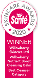willowberry natural skincare top sante award winner best cleansing balm