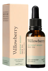 willowberry nutrient boost face oil ingredients