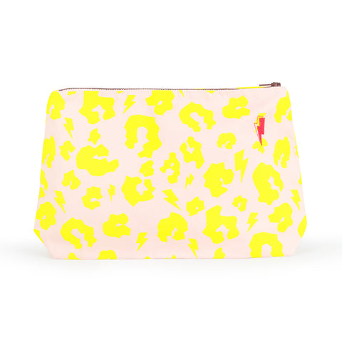 cosmetic bag, swag bag, neon bag, beauty gifts