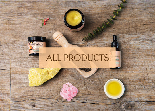 willowberry natural skin care products