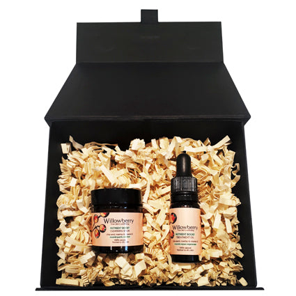 Willowberry Trial/Travel Skincare Duo Gift Set