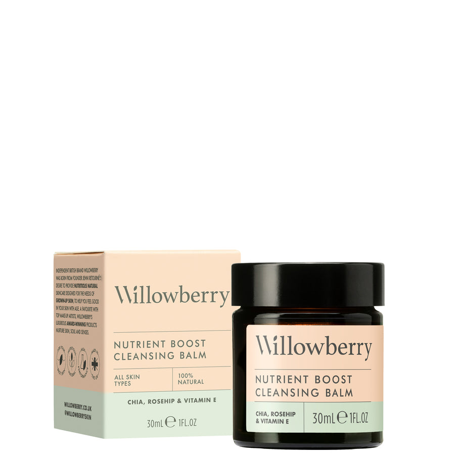 Willowberry Nutrient Boost Cleansing Balm - Trial/Travel Size