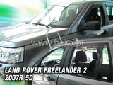 Wind Deflectors - Land Rover Freelander II 5d 2007r. (+OT)