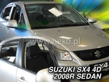 Wind Deflectors - Suzuki SX4 I 4d 2008r (+OT) → sedan