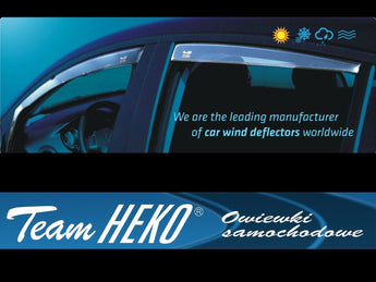 Wind Deflectors -  BMW Seria3, E90, 4d 03/2005-2012r (+OT) sedan