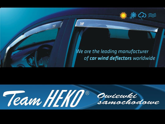 Wind Deflectors - BMW seria 5  E60, 4d 2003-2010R  (+OT) SEDAN