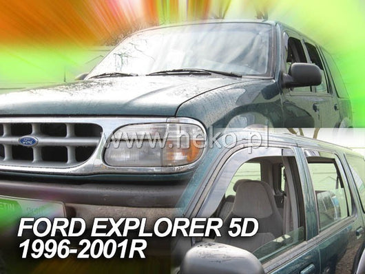 Wind Deflectors - Ford Explorer II 5d 1996-2001r. (+OT)