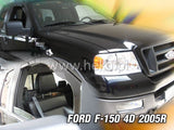 Wind Deflectors - Ford F-150 4d 2005r →