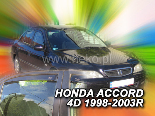 Wind Deflectors - Honda Accord CG 4d 10/1998r.-2003r.(+OT) sedan