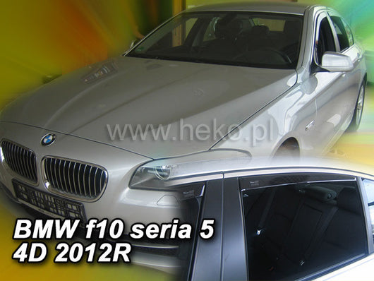 Wind Deflectors - BMW seria 5 (f10) 4d 2010R→ (+OT) sedan
