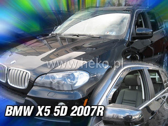 Wind Deflectors - BMW X5 (E70) 5d 2007-2013r. (+OT)