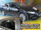 Wind Deflectors - Honda Civic 5d 2012r →(+OT) htb