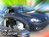 Wind Deflectors VW Golf VI 3d 2009r.→
