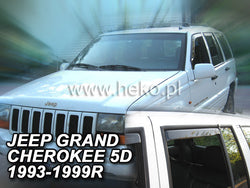 Wind Deflectors - Jeep Grand Cherokee 1993r.-1999r. (+OT)