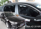 Wind Deflectors - Kia Optima (JF) (IVgen) 4D 2016r→(+OT)