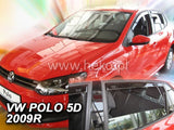 Wind Deflectors - VW Polo 5d 2009r.→(+OT)