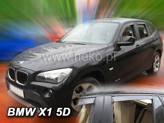 Wind Deflectors - BMW X1 (E84) 5d 2009r→ (+OT)