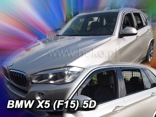 Wind Deflectors - BMW X5 (F15) 5d 2013r. → (+OT)