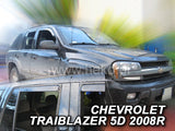 Wind Deflectors - Chevrolet Trailblazer 5d 2002-2009r (+OT)