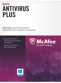 McAfee AntiVirus Plus 1PC 1YEAR
