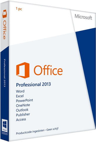 MICROSOFT OFFICE 2013 PROFESSIONAL