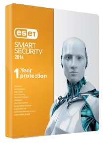 ESET Smart Security Version 9 - 1Year 1PC