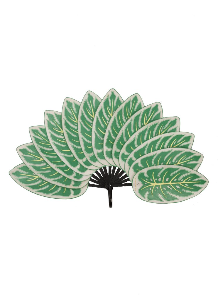 MONSTERA LEAF LARGE FAN