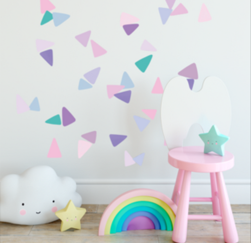 A3 - CONFETTI WALL DECALS