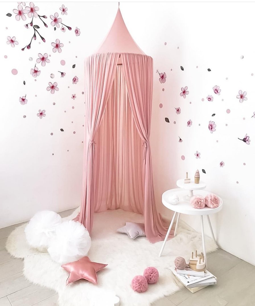 Cherry Blossom Fabric Wall Decals