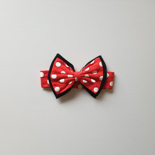 Minnie Bow Headband / Bow Clip