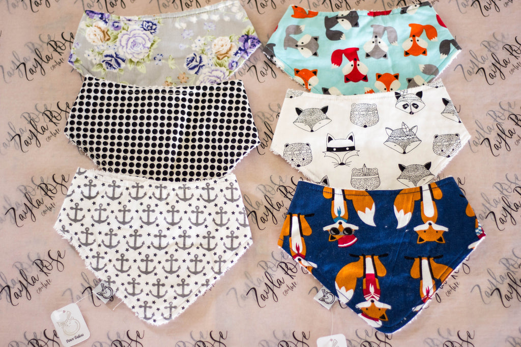 Bandana Bibs - Multiple Designs