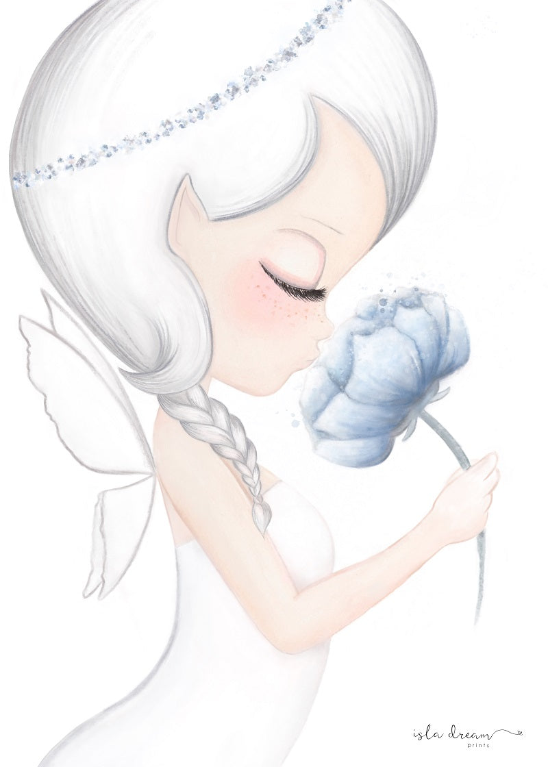 Crysta The Blue Petal Fairy