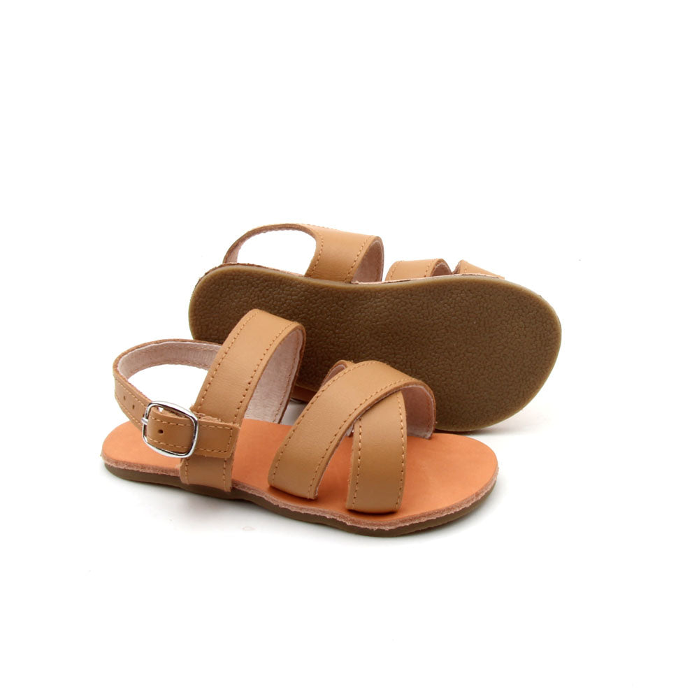 Zulu Sandals - Coffee Tan