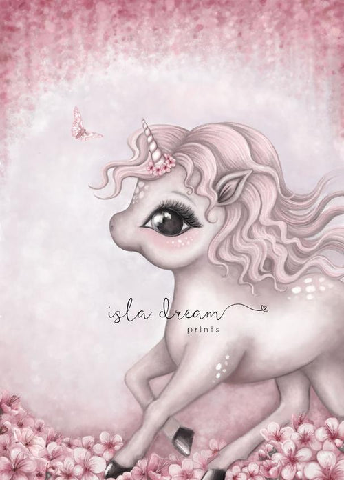 Cinnamon the unicorn print