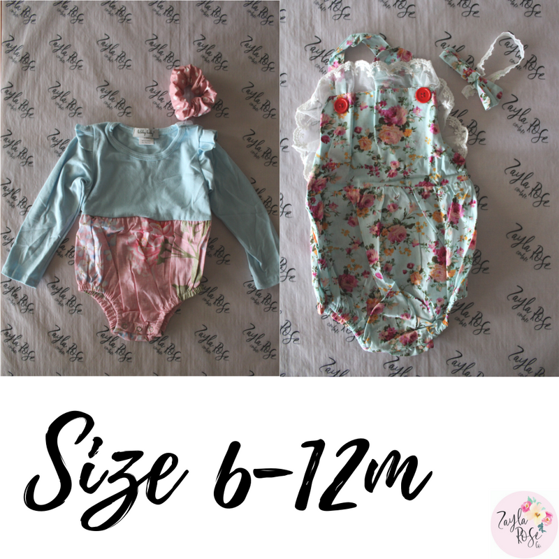 Size 6-12m Pack