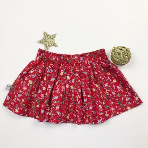 Samantha Skirt - RED VINES