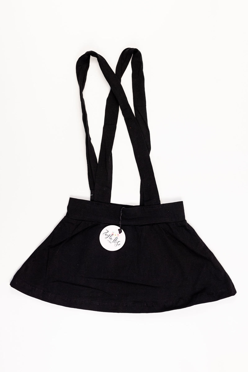 Suspender Skirt - Black