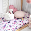 Floral Kiss I Fitted Cot Sheet