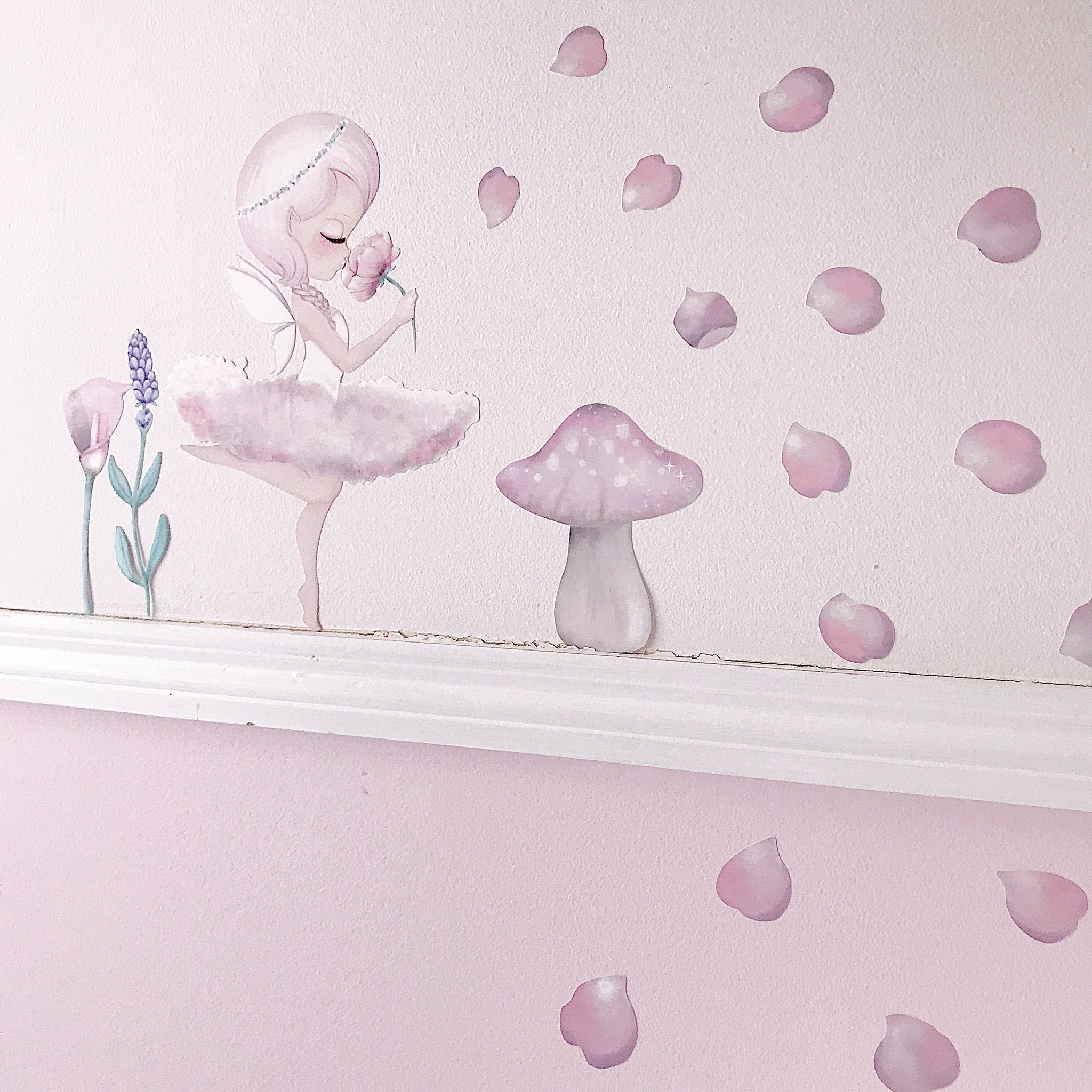 A4 - CRYSTA the Fairy WALL DECALS