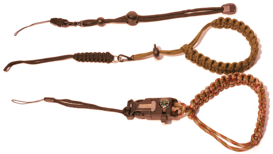 Roger Sthal camera straps – Camo, Army Green, Black, 3 pack of performance Camera, Camcorder Binocular wrist straps.