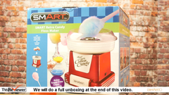 Candy Floss Maker - Hard Candy into Cotton Candy