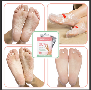 Foot Peel Mask - Exfoliating Foot Treatment
