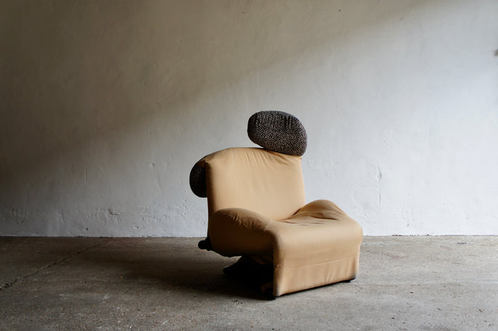 WINK CHAIR BY TOSHIYUKI KITA FOR CASSINA, 1980