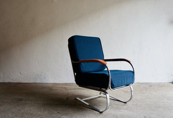 1930'S KEM WEBER SPRINGER CHAIR FOR LLOYD MANUFACTURING