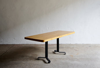 CHARLOTTE PERRIAND LES ARCS SAM DINING TABLE 1978