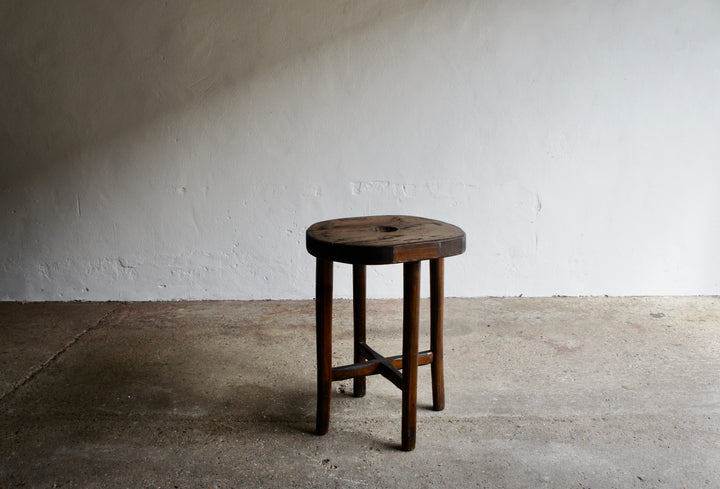 BRUTALIST SIDE TABLE